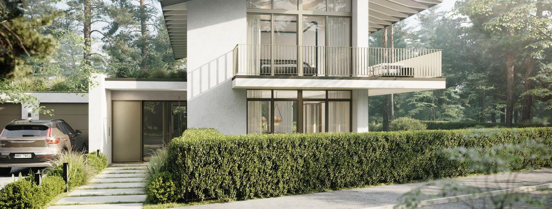 Unique elegance. Architect villa.
