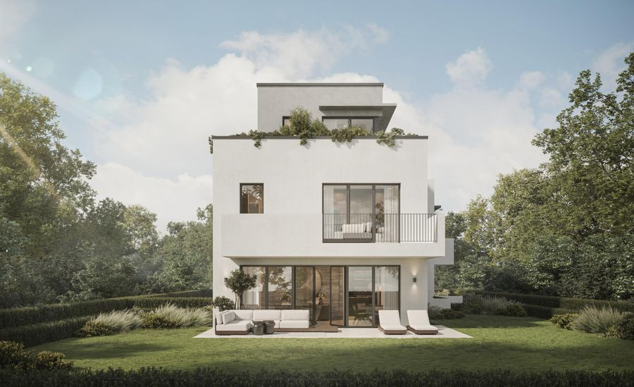 Practical and stylish living. 2 semi-detached houses.
